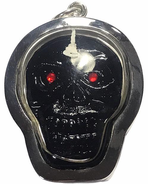 A Potent Prai Krasip Amulet by Ajarn Krit Payak in silver