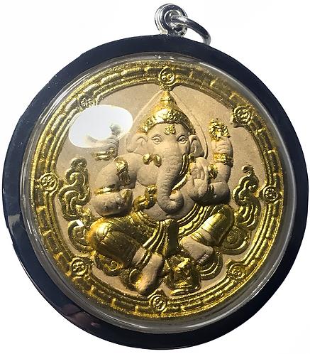 Stunning Silver Cased Ganesh Amulets by Kruba Krissana