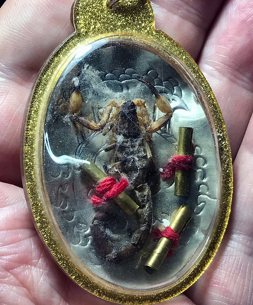 A Fantastic Scorpion Amulet by the mighty Ajarn Suea
