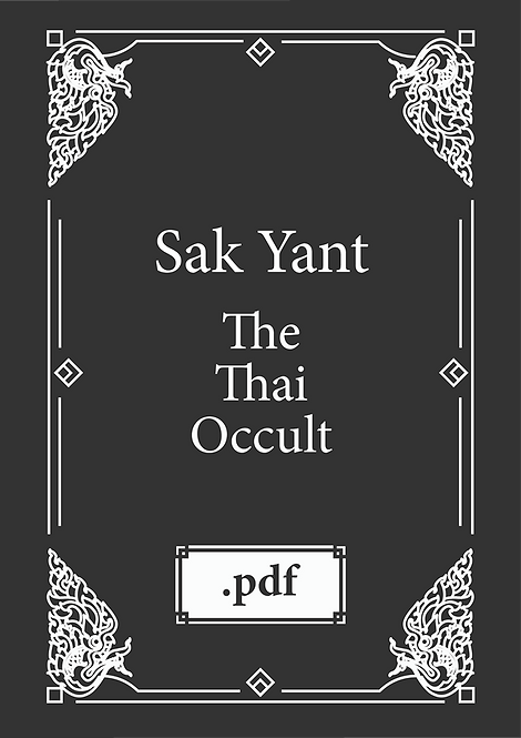 The Thai Occult Sak Yant Book pdf
