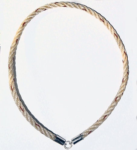 A Named Female Suicide Rope for Amulets with silver tips LAST ONE