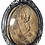 Thumbnail: A Carved Panneng to Phor Sala Tan by Ajarn Tay in silver