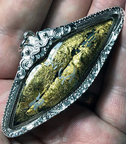 The Lips from a Male Suicide for sex and protection - in silver