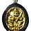 Thumbnail: A Phaya Yak Burmese Yaa Amulet by Kruba Apiwat in silver