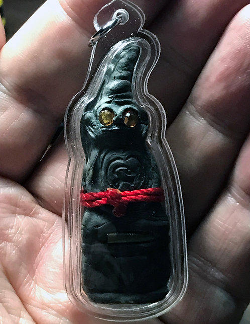 An Old Issue Phra Ngang Prai Amulet by Ajarn Apichai - LAST ONE