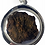 Thumbnail: A Fantastic Rok Meow Amulet by Phra Ajarn Tun in silver LAST ONE
