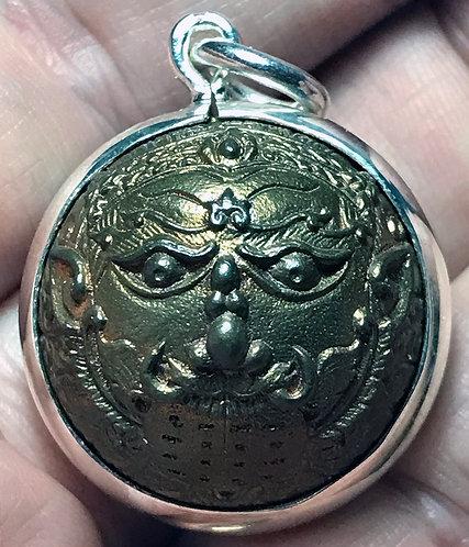 A Fine Silver cased Palaut Khrau by Phra Ajarn Tau