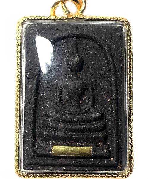 The Phra Somdet Phokkasap Amulet by Luang Phor Wan with Leklai (2018)