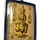 Thumbnail: The Fabulous 9 Face Lersi Amulet by Luang Pu Nong in silver