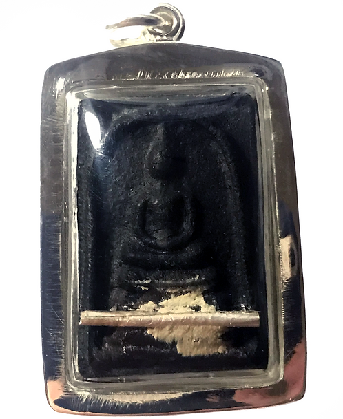 The Sieng Mieng Ghost in silver by Ajarn Piya LAST ONE