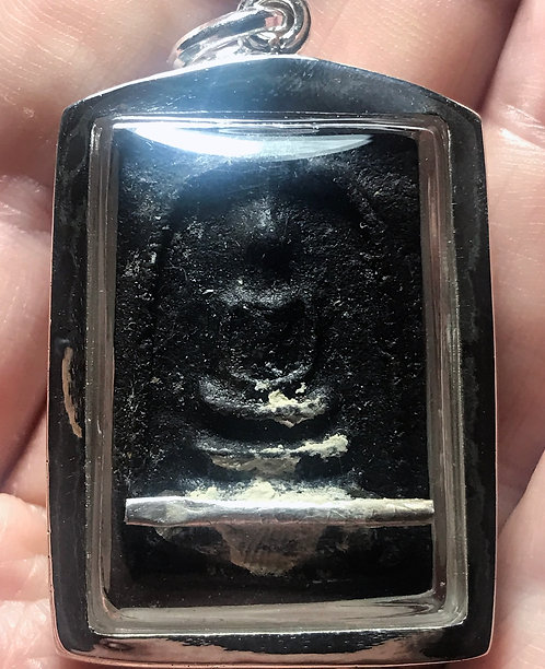 The Phi Sieng Mieng 7 Man Prai Amulet by Ajarn Piya in silver LAST ONE