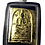 Thumbnail: A Stunning Male Prai Somdet Amulet by Ajarn Tui in silver