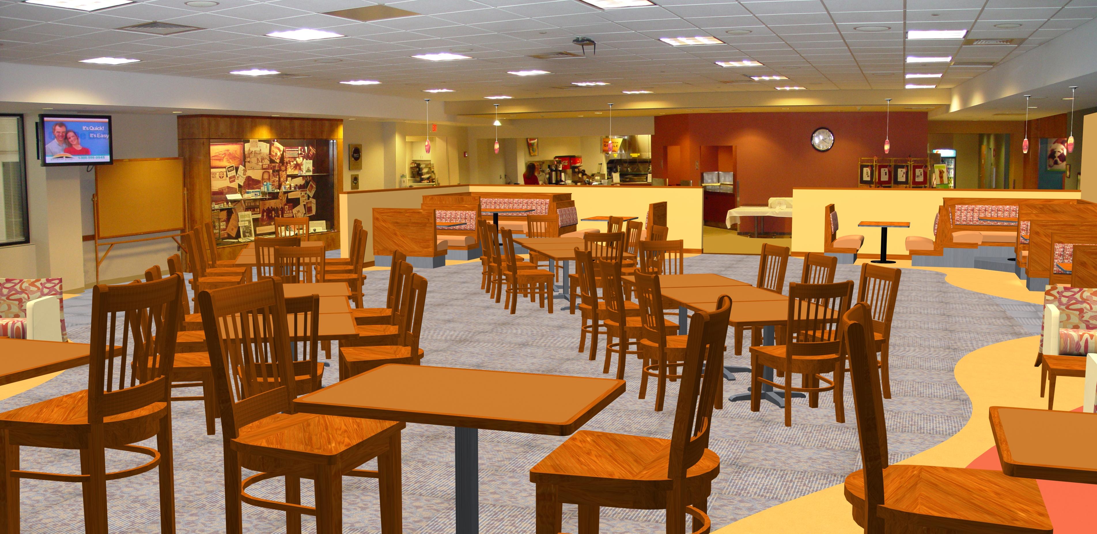 Corporate Dining Area
