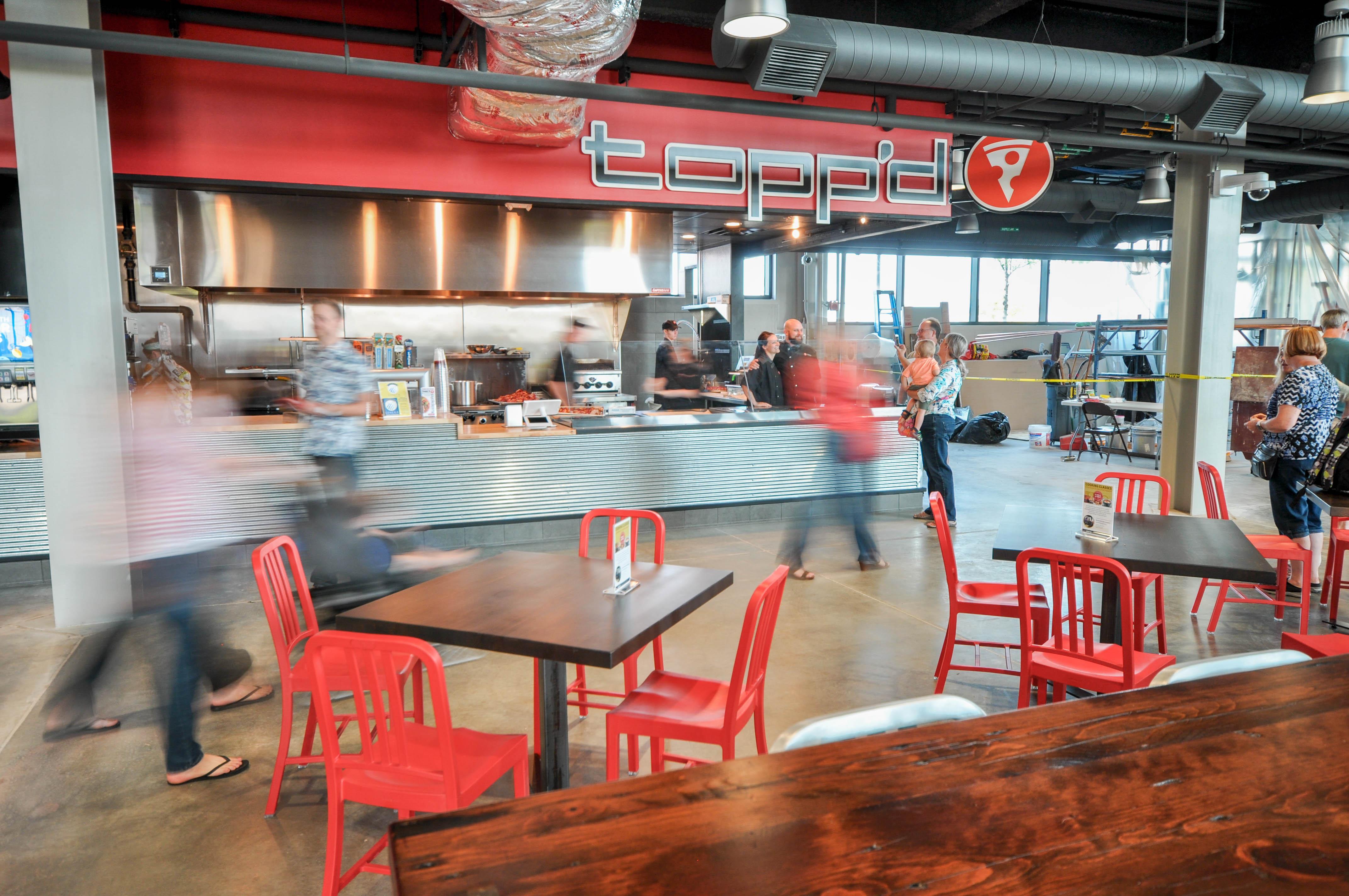 Topp'd Pizza - Lenexa Public Market