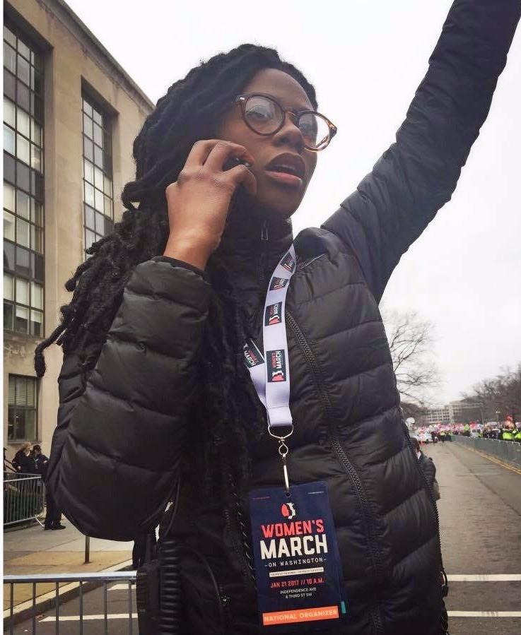 Nantasha Williams of The Women's March