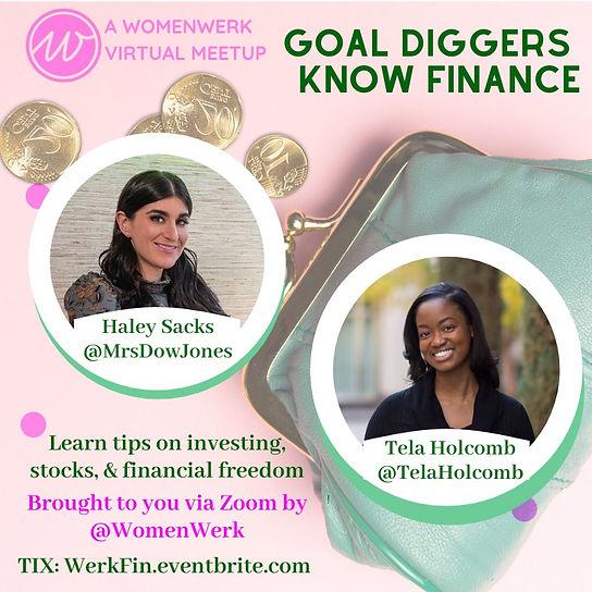 WomenWerk Goal Diggers Finance June 2020
