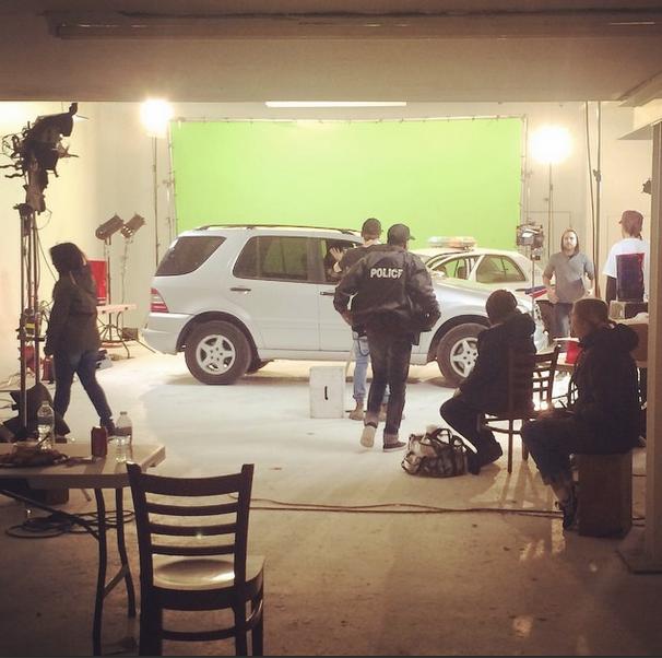 SUV in The Studio