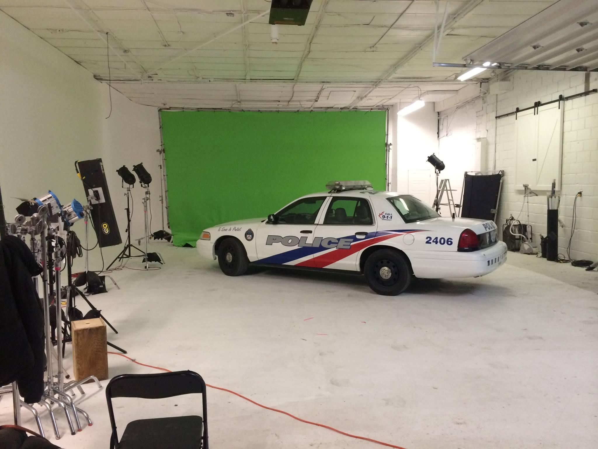 Police Car Shoot