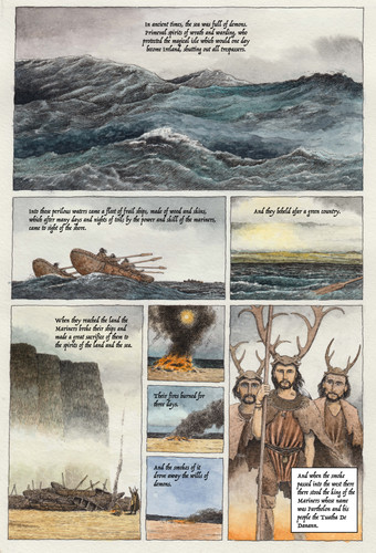 The Invasions of Ireland, page 1