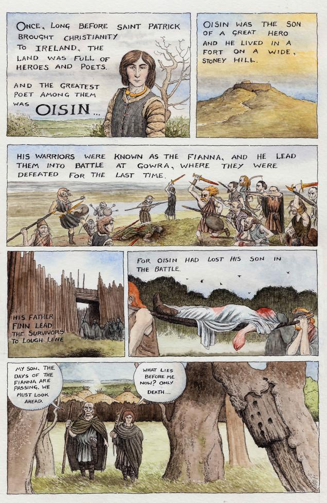 The Journey of Oisin