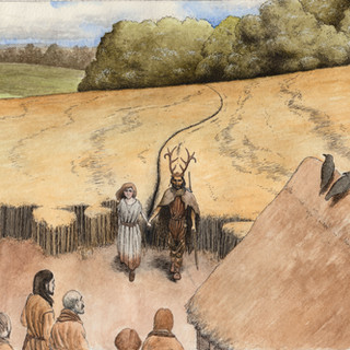 A meeting of the earliest peoples in the
