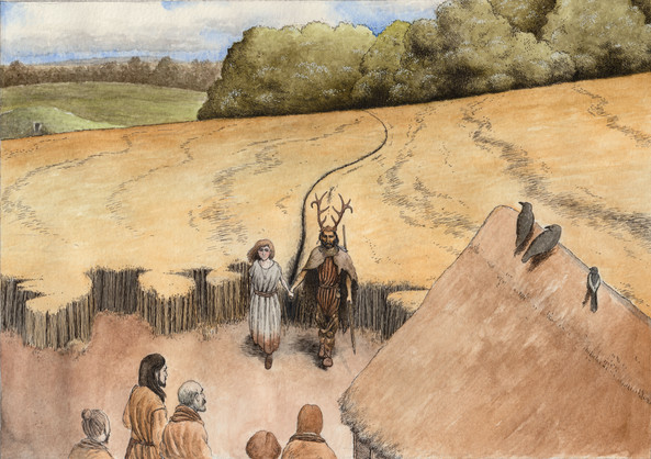 A meeting of the earliest UK peoples