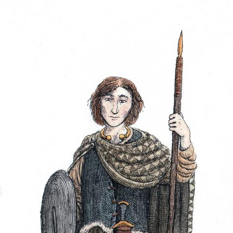 Oisin, son of Fionn MacCumail.