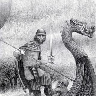 High King Aed; the fair warrior.