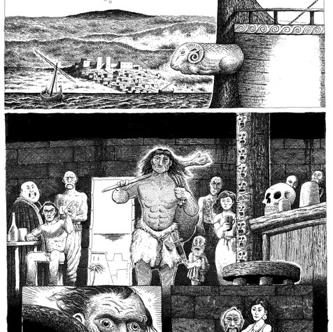 2000AD - entry to the 'Art Stars' competition.