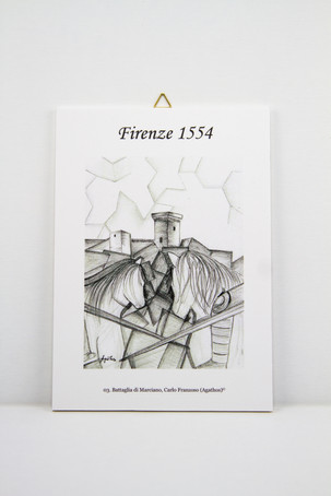 "Art print on forex ""Battaglia Marciano 3"""