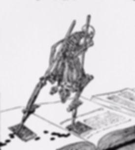 Koloman Moser illustration, from The Widow Nash