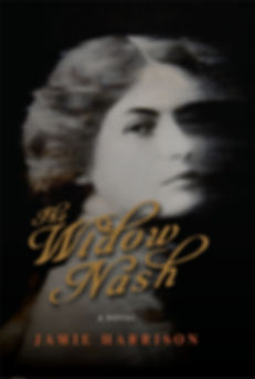 The cover of The Widow Nash, by Jamie Harrison