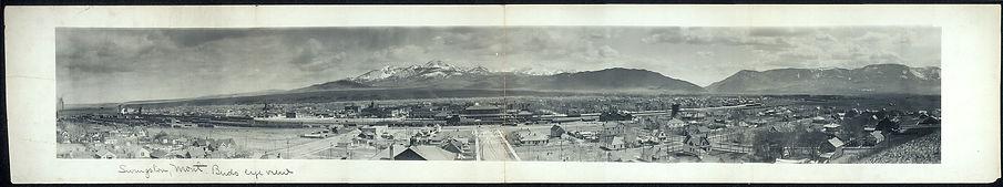 Livingston, Montana, circa 1900, from The Widow Nash