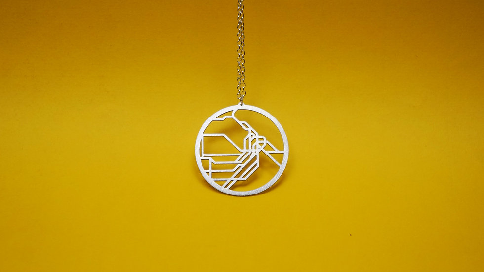 Sydney Metro Map Necklace