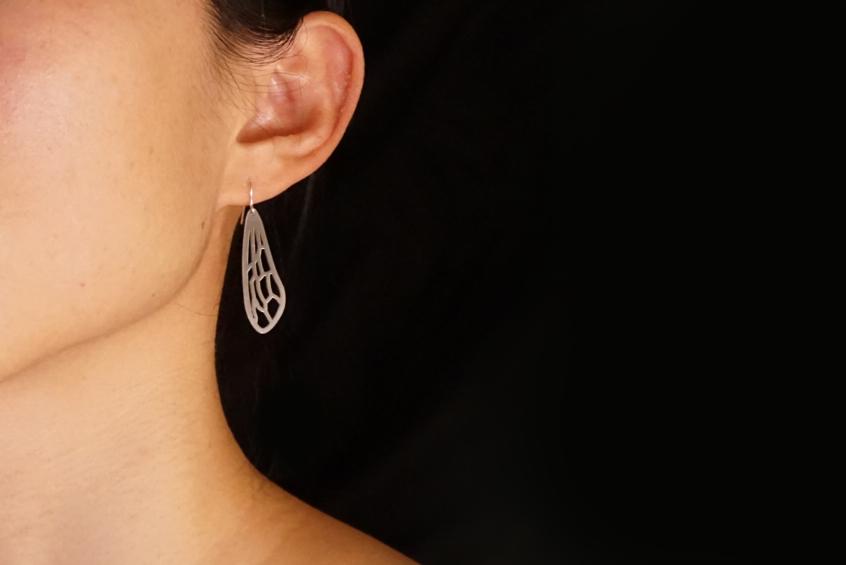 Bee-earrings-worn