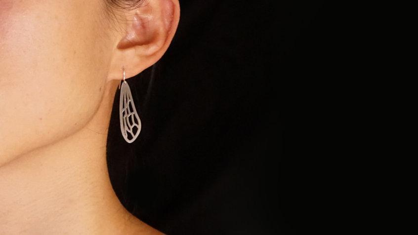 Honey Bee Wing Earrings