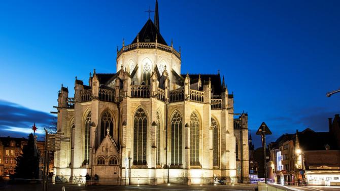 St-Pieters Church Leuven re-opens