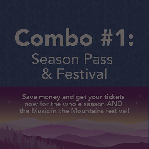 COMBO #1: Season Pass & Festival Pass