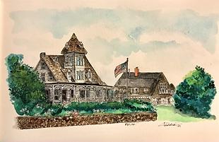 Rye NH House watercolor 2021.HEIC