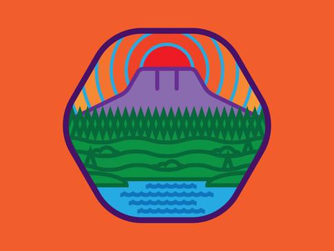 Horsetooth Sticker
