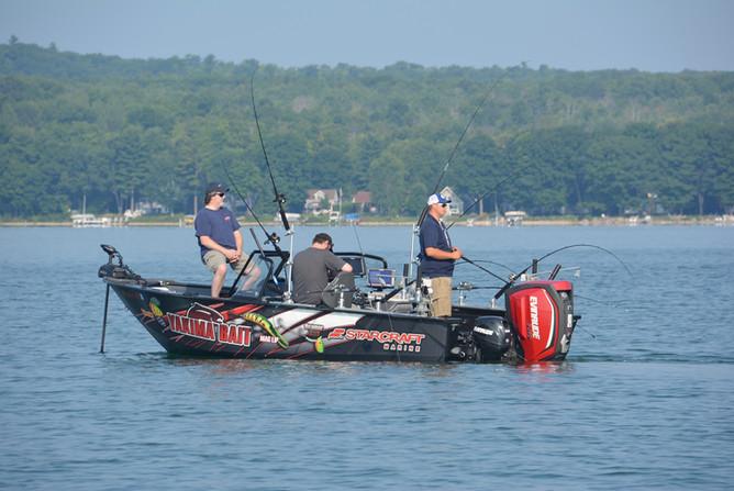 Multi Species = Multi Presentations Fishing Boat