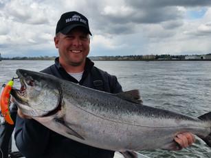 Fishing Flatfish for Fall Salmon