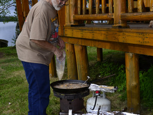 The Makings Of A Great Fish Dinner