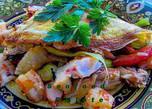 Seafood Omelette