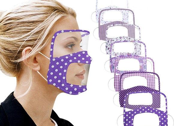 Elegante mascara protectora