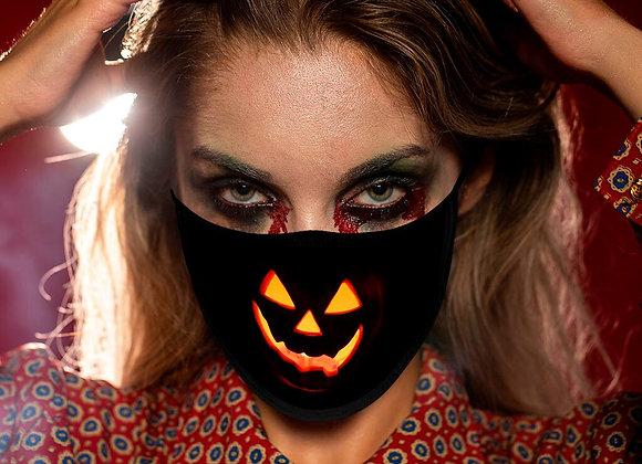 Máscara facial para día de brujas, para hombre y mujer