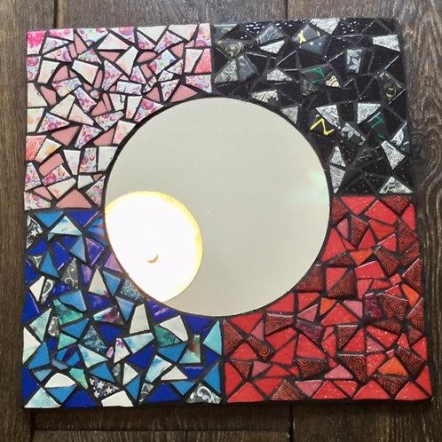 Miroir patchwork