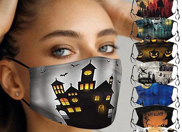 Mascarillas Protectoras, terroríficas para Halloween