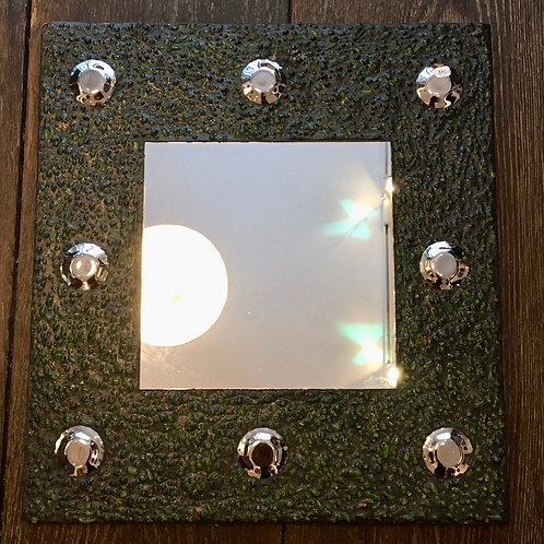 Miroir en perles de verre