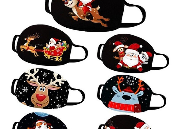 Mascarilla Protectora para Navidad